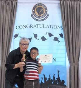 Day 4 of Ammodago International - Junior Category in Malaysia - Master David Goh at Gereja Joy Sogo 苏雅喜乐堂