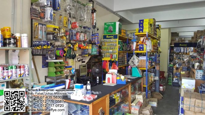 Malaysia Johor Batu Pahat Machienery Hardware NiTech Enterprise Ang Ee Meng 洪维明 Alvin Teo 张佃发 马来西亚 柔佛 峇株巴辖 全能机械五金 工具 A17