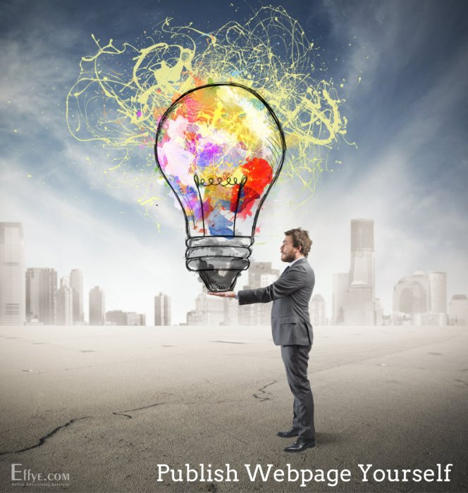 Publish Advertising and Your Products and Services Yourself at Effye Website Be your own web designer A03