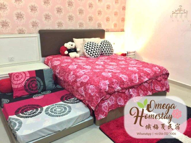 Omega HomeStay GuestHouse Johor Bahru Malaysia Johor Home Stay Guest House Hotel Accommodation Omega 柔佛新山民宿出租 马来西亚 A02