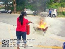 Malaysia Johor Batu Pahat Fire Extinguisher Prevention Equipment Chop Soon Kiong Trading 顺強贸易 Safety Somke Alarm Fire Prevention Protection Fire Hose Reel Bomba 灭火器-B02