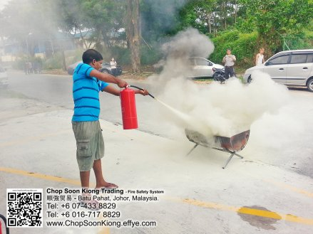 Malaysia Johor Batu Pahat Fire Extinguisher Prevention Equipment Chop Soon Kiong Trading 顺強贸易 Safety Somke Alarm Fire Prevention Protection Fire Hose Reel Bomba 灭火器-B06