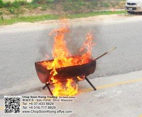Malaysia Johor Batu Pahat Fire Extinguisher Prevention Equipment Chop Soon Kiong Trading 顺強贸易 Safety Somke Alarm Fire Prevention Protection Fire Hose Reel Bomba 灭火器-B07