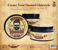 Tak Mungkin PoWax Malaysia Impossible PoWax Malaysia Poster - 48 hours long-lasting hairstyle products JPG A02