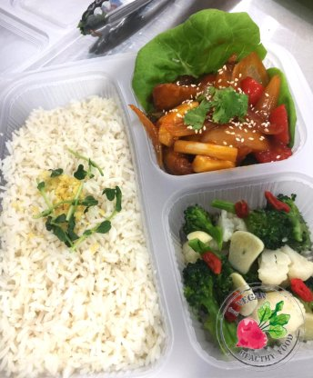 Malaysia Johor Batu Pahat Vegetarian Food Restaurant and Cafe Delicious Food and Beverages 马来西亚 柔佛 峇株巴辖 素食餐厅 和 咖啡厅 美食 我肚子饿了 A06