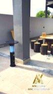 pembunuh nyamuk berkuasa solar untuk luar dan dalam rumah pemasangan percuma alat bunuh nyamuk elektrik 28