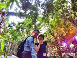 Raymond Ong Effye Ang work together Fighting for Future Crazy Life 陪我发疯 陪我癫 Garden of One Utama Shopping Centre Center Kuala Lumpur A20