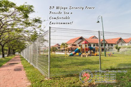BP Wijaya Trading Sdn Bhd Malaysia Selangor Kuala Lumpur manufacturer of safety fences building materials for housing construction site Security fencing factory security home security A03-13