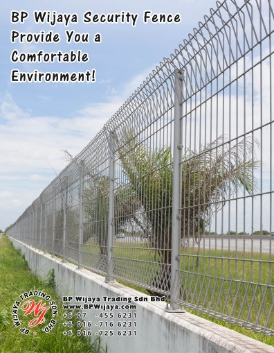 BP Wijaya Trading Sdn Bhd Malaysia Selangor Kuala Lumpur Manufacturer of Safety Fences Building Materials for Housing Construction Site Security Fencing Factory Security Home Security C01-10