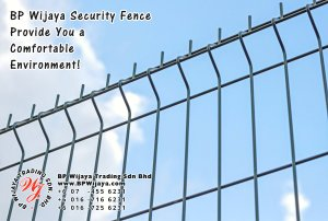 BP Wijaya Trading Sdn Bhd Malaysia Selangor Kuala Lumpur Manufacturer of Safety Fences Building Materials for Housing Construction Site Security Fencing Factory Security Home Security C01-58