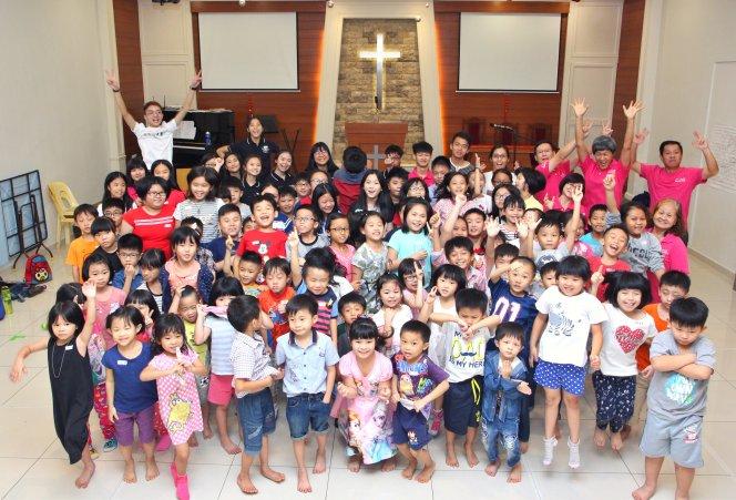 苏雅喜乐堂 主日学儿童生活营 Gereja Joy Soga Sunday School Camp A03