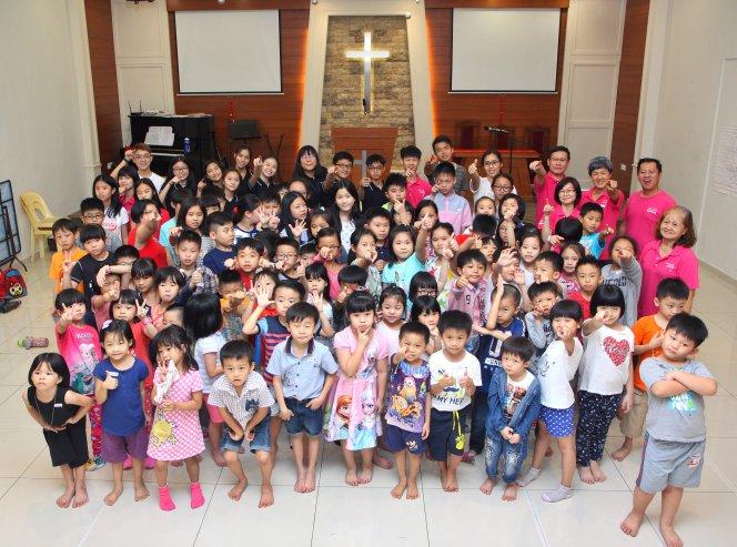 苏雅喜乐堂 主日学儿童生活营 Gereja Joy Soga Sunday School Camp A05