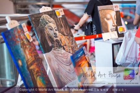 马来西亚 哥打白沙罗 八打灵再也 吉隆坡 雪兰莪 金犬报喜迎旺年 创意填色比赛 World Art House 世界艺术画室 及 1 Utama Shopping 金爺爺 JinYeYe Effye Media A020