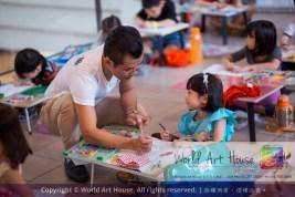 马来西亚 哥打白沙罗 八打灵再也 吉隆坡 雪兰莪 金犬报喜迎旺年 创意填色比赛 World Art House 世界艺术画室 及 1 Utama Shopping 金爺爺 JinYeYe Effye Media A027