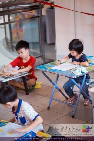 马来西亚 哥打白沙罗 八打灵再也 吉隆坡 雪兰莪 金犬报喜迎旺年 创意填色比赛 World Art House 世界艺术画室 及 1 Utama Shopping 金爺爺 JinYeYe Effye Media A043