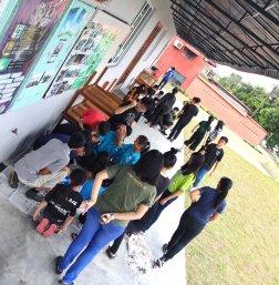 马来西亚 柔佛 峇株巴辖 苏雅喜乐马来西亚 柔佛 峇株巴辖 苏雅喜乐堂 和平团契 少年 一日营会 3月 23日 2018年 门训生 Malaysia Johor Batu Pahat Gereja Joy Soga Peace Fellowship Youth One Day Camp 23 Mar 2018 A35