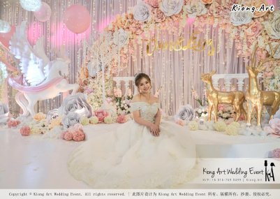 Kiong Art Wedding Event Kuala Lumpur Malaysia Event and Wedding Decoration Company One-stop Wedding Planning Services Wedding Theme Fantasy Secret Garden Restoran SY Muar A03-21