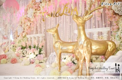 Kiong Art Wedding Event Kuala Lumpur Malaysia Event and Wedding Decoration Company One-stop Wedding Planning Services Wedding Theme Fantasy Secret Garden Restoran SY Muar A03-37