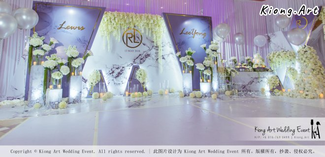 Kiong Art Wedding Event Kuala Lumpur Malaysia Event and Wedding Decoration Company One-stop Wedding Planning Services Wedding Theme Live Band Wedding Photography Videography A03-08