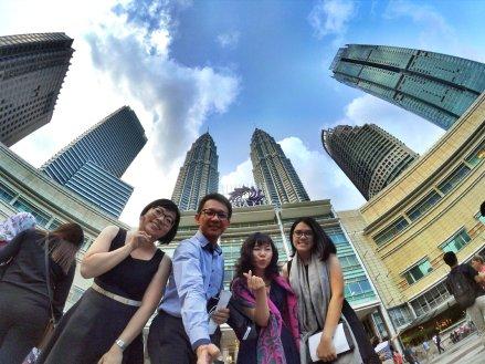 KLCC Kuala Lumpur Malaysia Kuala Lumpur City Centre Selangor Travel Raymond Ong Effye Ang Pinky Ning Estella Oon PETRONAS Twin Towers 马来西亚 吉隆坡 双峰塔 旅游 雪兰莪 A19