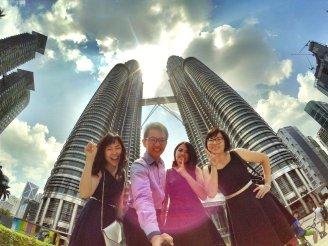 KLCC Kuala Lumpur Malaysia Kuala Lumpur City Centre Selangor Travel Raymond Ong Effye Ang Pinky Ning Estella Oon PETRONAS Twin Towers 马来西亚 吉隆坡 双峰塔 旅游 雪兰莪 A08