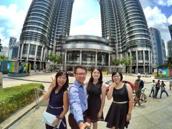 KLCC Kuala Lumpur Malaysia Kuala Lumpur City Centre Selangor Travel Raymond Ong Effye Ang Pinky Ning Estella Oon PETRONAS Twin Towers 马来西亚 吉隆坡 双峰塔 旅游 雪兰莪 A10