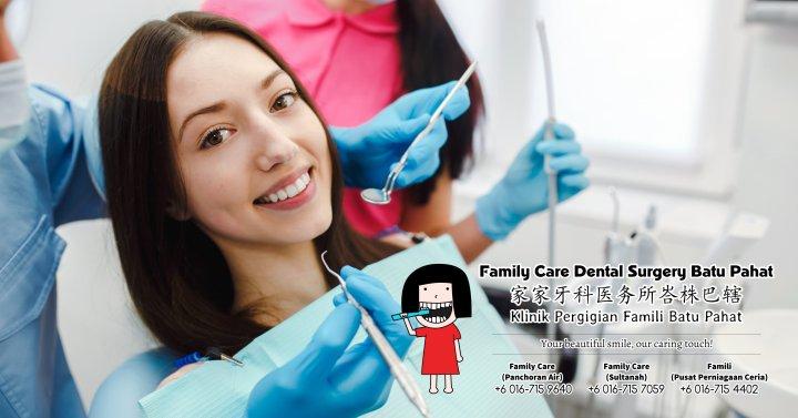Klinik Pergigian Famili Batu Pahat Johor Malaysia Batu Pahat Doktor Pergigian Kanak-kanak Klinik Pergigian Rawatan Implan Tanam Gigi Tampalan Gigi Cabutan Gigi Pembedahan Gigi Geraham Bongsu A00-00