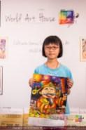 Malaysia Kota Damansara Petaling Jaya Kuala Lumpur Selangor Chinese New Year Charity Coloring Contest World Art House 世界艺术画室 and 1 Utama Shopping JinYeYe Effye Media B011