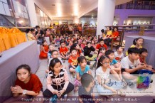 Malaysia Kota Damansara Petaling Jaya Kuala Lumpur Selangor Chinese New Year Charity Coloring Contest World Art House 世界艺术画室 and 1 Utama Shopping JinYeYe Effye Media B019