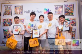 Malaysia Kota Damansara Petaling Jaya Kuala Lumpur Selangor Chinese New Year Charity Coloring Contest World Art House 世界艺术画室 and 1 Utama Shopping JinYeYe Effye Media B035