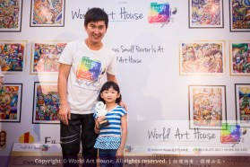 Malaysia Kota Damansara Petaling Jaya Kuala Lumpur Selangor Chinese New Year Charity Coloring Contest World Art House 世界艺术画室 and 1 Utama Shopping JinYeYe Effye Media B041