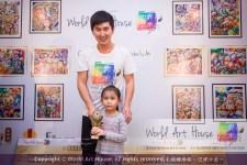 Malaysia Kota Damansara Petaling Jaya Kuala Lumpur Selangor Chinese New Year Charity Coloring Contest World Art House 世界艺术画室 and 1 Utama Shopping JinYeYe Effye Media B049