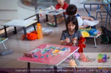 Malaysia Kota Damansara Petaling Jaya Kuala Lumpur Selangor Chinese New Year Charity Coloring Contest World Art House 世界艺术画室 and 1 Utama Shopping JinYeYe Effye Media A016