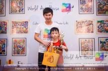 Malaysia Kota Damansara Petaling Jaya Kuala Lumpur Selangor Chinese New Year Charity Coloring Contest World Art House 世界艺术画室 and 1 Utama Shopping JinYeYe Effye Media B059