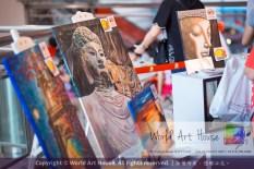 Malaysia Kota Damansara Petaling Jaya Kuala Lumpur Selangor Chinese New Year Charity Coloring Contest World Art House 世界艺术画室 and 1 Utama Shopping JinYeYe Effye Media A020