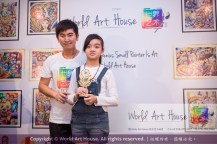 Malaysia Kota Damansara Petaling Jaya Kuala Lumpur Selangor Chinese New Year Charity Coloring Contest World Art House 世界艺术画室 and 1 Utama Shopping JinYeYe Effye Media B092