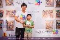 Malaysia Kota Damansara Petaling Jaya Kuala Lumpur Selangor Chinese New Year Charity Coloring Contest World Art House 世界艺术画室 and 1 Utama Shopping JinYeYe Effye Media C005