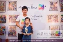 Malaysia Kota Damansara Petaling Jaya Kuala Lumpur Selangor Chinese New Year Charity Coloring Contest World Art House 世界艺术画室 and 1 Utama Shopping JinYeYe Effye Media C009