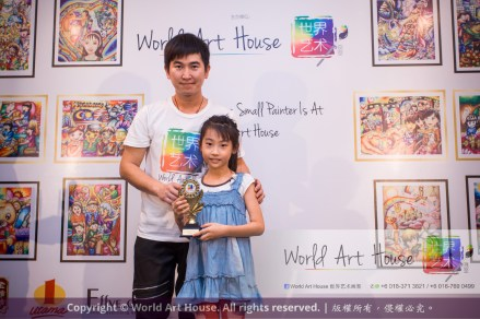 Malaysia Kota Damansara Petaling Jaya Kuala Lumpur Selangor Chinese New Year Charity Coloring Contest World Art House 世界艺术画室 and 1 Utama Shopping JinYeYe Effye Media C013
