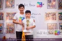 Malaysia Kota Damansara Petaling Jaya Kuala Lumpur Selangor Chinese New Year Charity Coloring Contest World Art House 世界艺术画室 and 1 Utama Shopping JinYeYe Effye Media C019