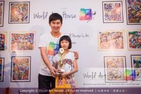 Malaysia Kota Damansara Petaling Jaya Kuala Lumpur Selangor Chinese New Year Charity Coloring Contest World Art House 世界艺术画室 and 1 Utama Shopping JinYeYe Effye Media C020