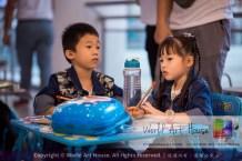 Malaysia Kota Damansara Petaling Jaya Kuala Lumpur Selangor Chinese New Year Charity Coloring Contest World Art House 世界艺术画室 and 1 Utama Shopping JinYeYe Effye Media A023