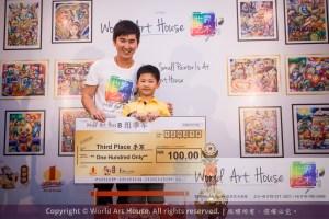Malaysia Kota Damansara Petaling Jaya Kuala Lumpur Selangor Chinese New Year Charity Coloring Contest World Art House 世界艺术画室 and 1 Utama Shopping JinYeYe Effye Media C025