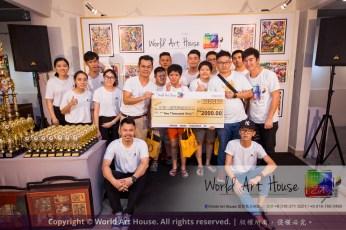 Malaysia Kota Damansara Petaling Jaya Kuala Lumpur Selangor Chinese New Year Charity Coloring Contest World Art House 世界艺术画室 and 1 Utama Shopping JinYeYe Effye Media C036