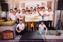 Malaysia Kota Damansara Petaling Jaya Kuala Lumpur Selangor Chinese New Year Charity Coloring Contest World Art House 世界艺术画室 and 1 Utama Shopping JinYeYe Effye Media C039