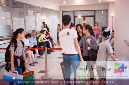 Malaysia Kota Damansara Petaling Jaya Kuala Lumpur Selangor Chinese New Year Charity Coloring Contest World Art House 世界艺术画室 and 1 Utama Shopping JinYeYe Effye Media C051