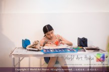 Malaysia Kota Damansara Petaling Jaya Kuala Lumpur Selangor Chinese New Year Charity Coloring Contest World Art House 世界艺术画室 and 1 Utama Shopping JinYeYe Effye Media C054