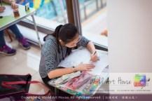 Malaysia Kota Damansara Petaling Jaya Kuala Lumpur Selangor Chinese New Year Charity Coloring Contest World Art House 世界艺术画室 and 1 Utama Shopping JinYeYe Effye Media C057