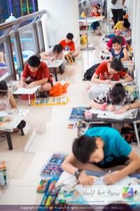 Malaysia Kota Damansara Petaling Jaya Kuala Lumpur Selangor Chinese New Year Charity Coloring Contest World Art House 世界艺术画室 and 1 Utama Shopping JinYeYe Effye Media C059