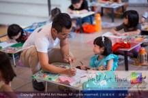Malaysia Kota Damansara Petaling Jaya Kuala Lumpur Selangor Chinese New Year Charity Coloring Contest World Art House 世界艺术画室 and 1 Utama Shopping JinYeYe Effye Media A027
